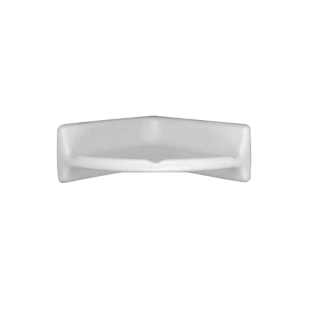 Daltile Bath Accessories 8 3/4 in. x 8 3/4 in. Ceramic Corner