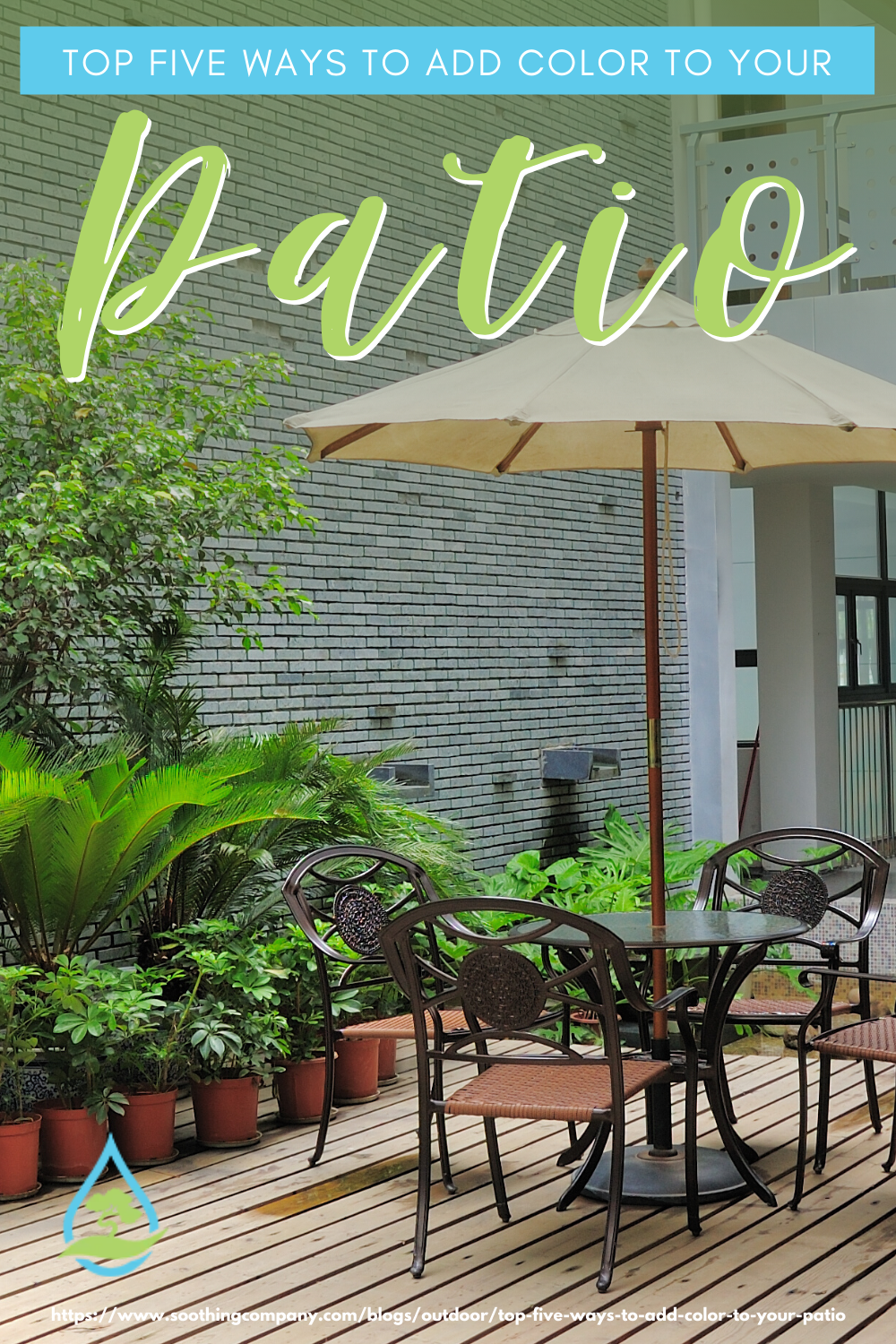 Top Five Ways To Add Color To Your Patio in 2020   Patio ...