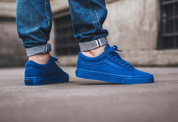 19af2a2cb1b1 Basket Vans Old Skool  Nautical Blue  (2)