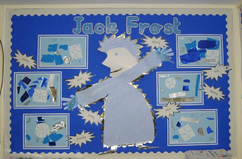 Jack Frost classroom display photo from Carol. | Bulletin ...