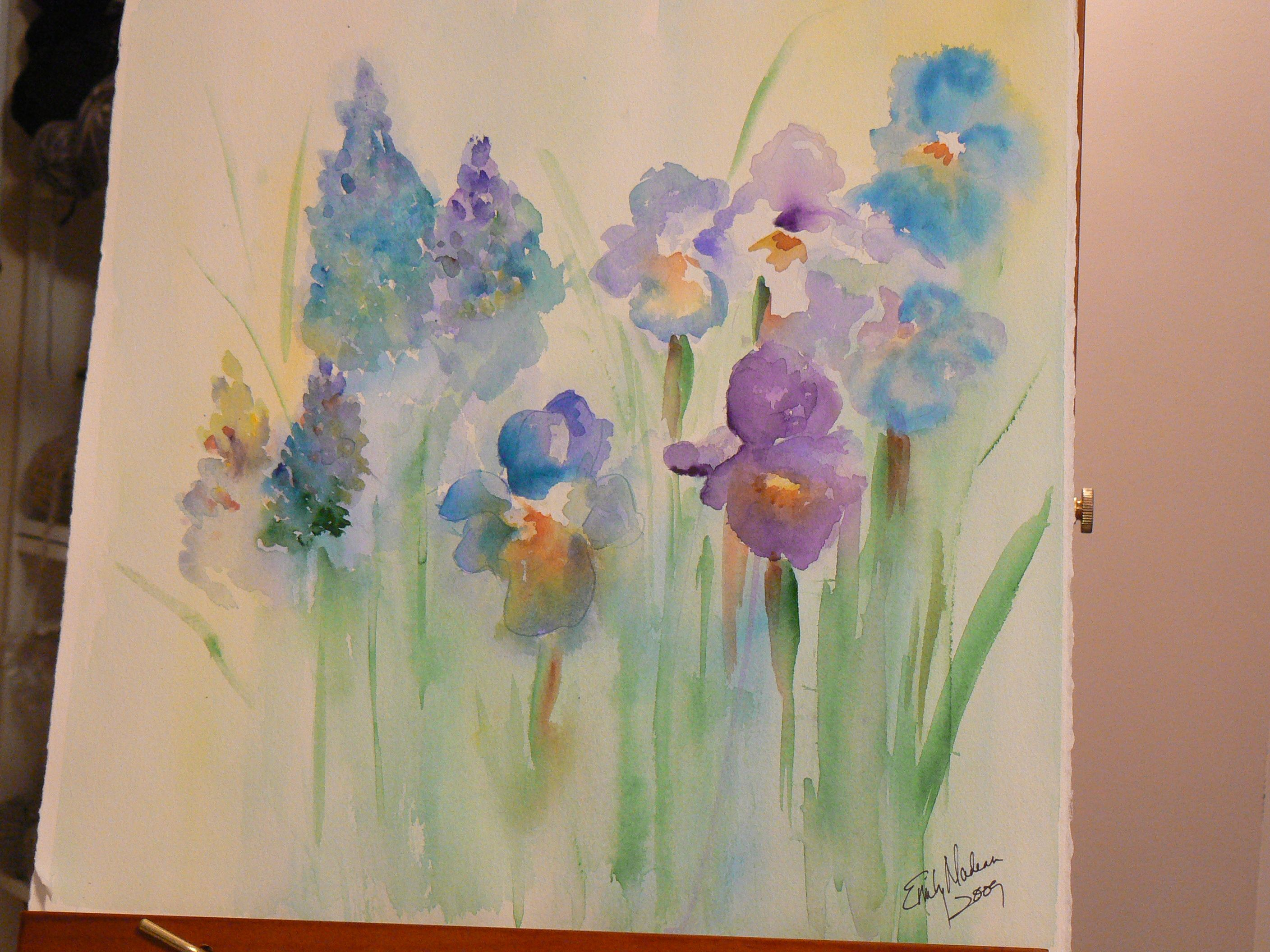 Easy Watercolor Paintings Posted In General Painting Projects