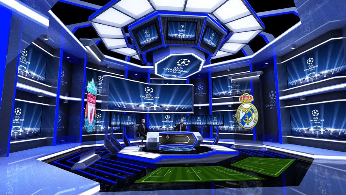 RCTI UEFA CHAMPION LEAGUE 20182019 VIRTUAL SET on Behance