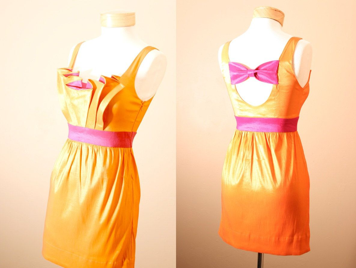 On sale th of july orange you glad we met dress birthday