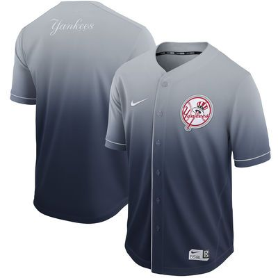 Men\u0027s New York Yankees Nike Navy Fade Jersey