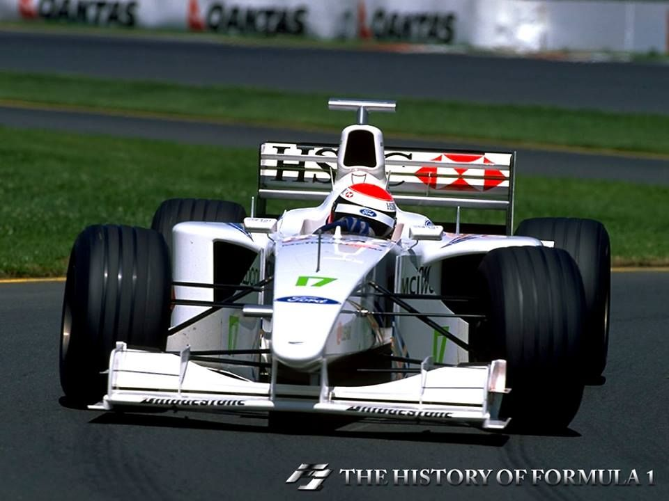 1999 Formula 1 Australia Grand Prix Johnny Herbert