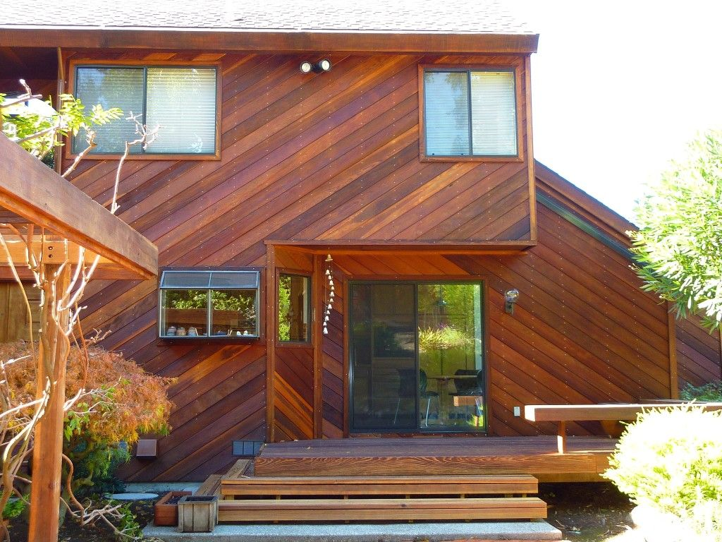 Image Result For Red Wood House Stain Redwood Siding House In The Woods Exterior Siding