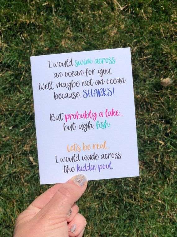 Sarcastic Card for Friend Funny Friendship Card for BFF Humorous Friendship Card Silly card friend L