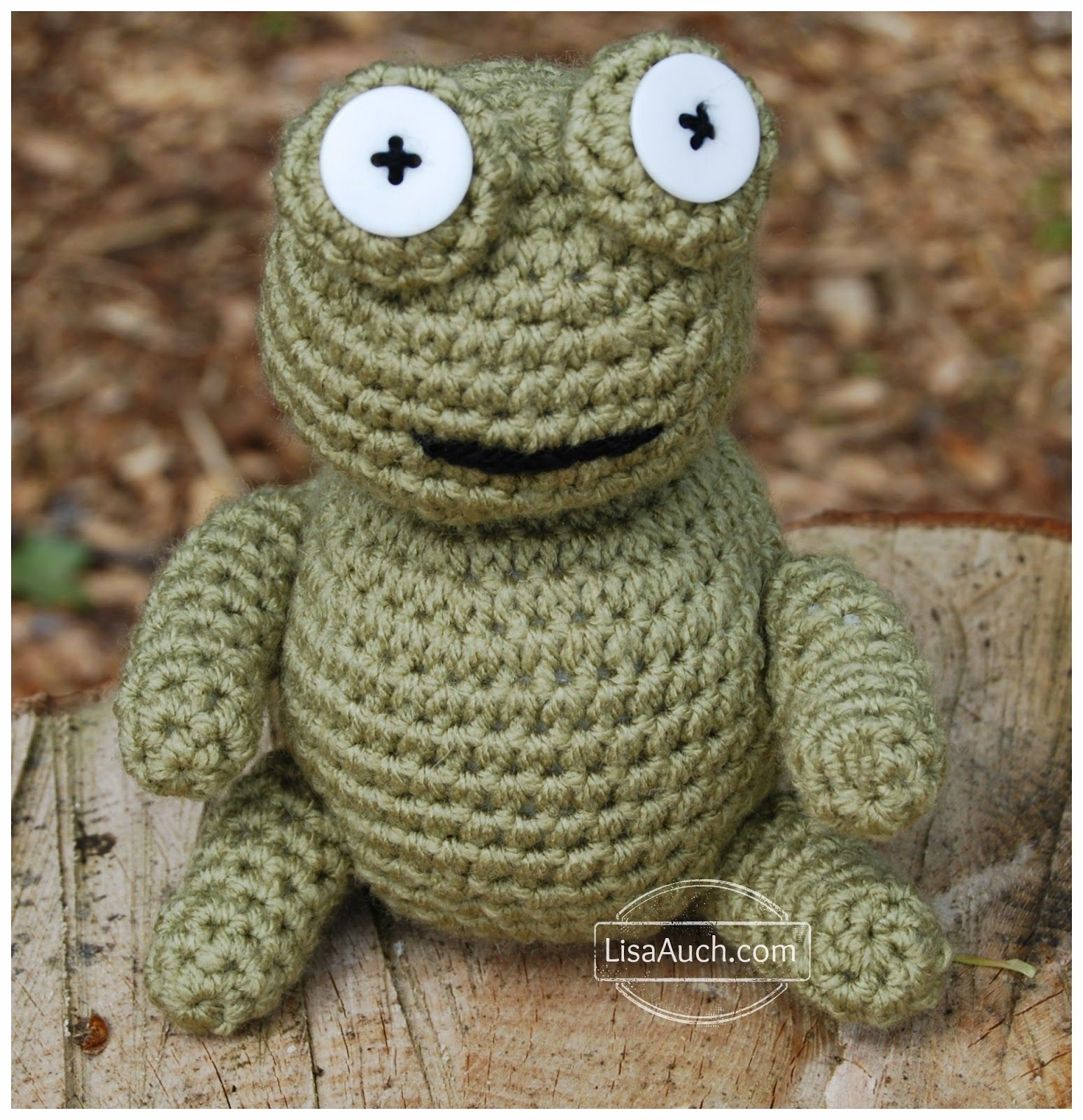 FREE Amigurumi Patterns (Free Crochet Toy Patterns) | Crochet frog ...