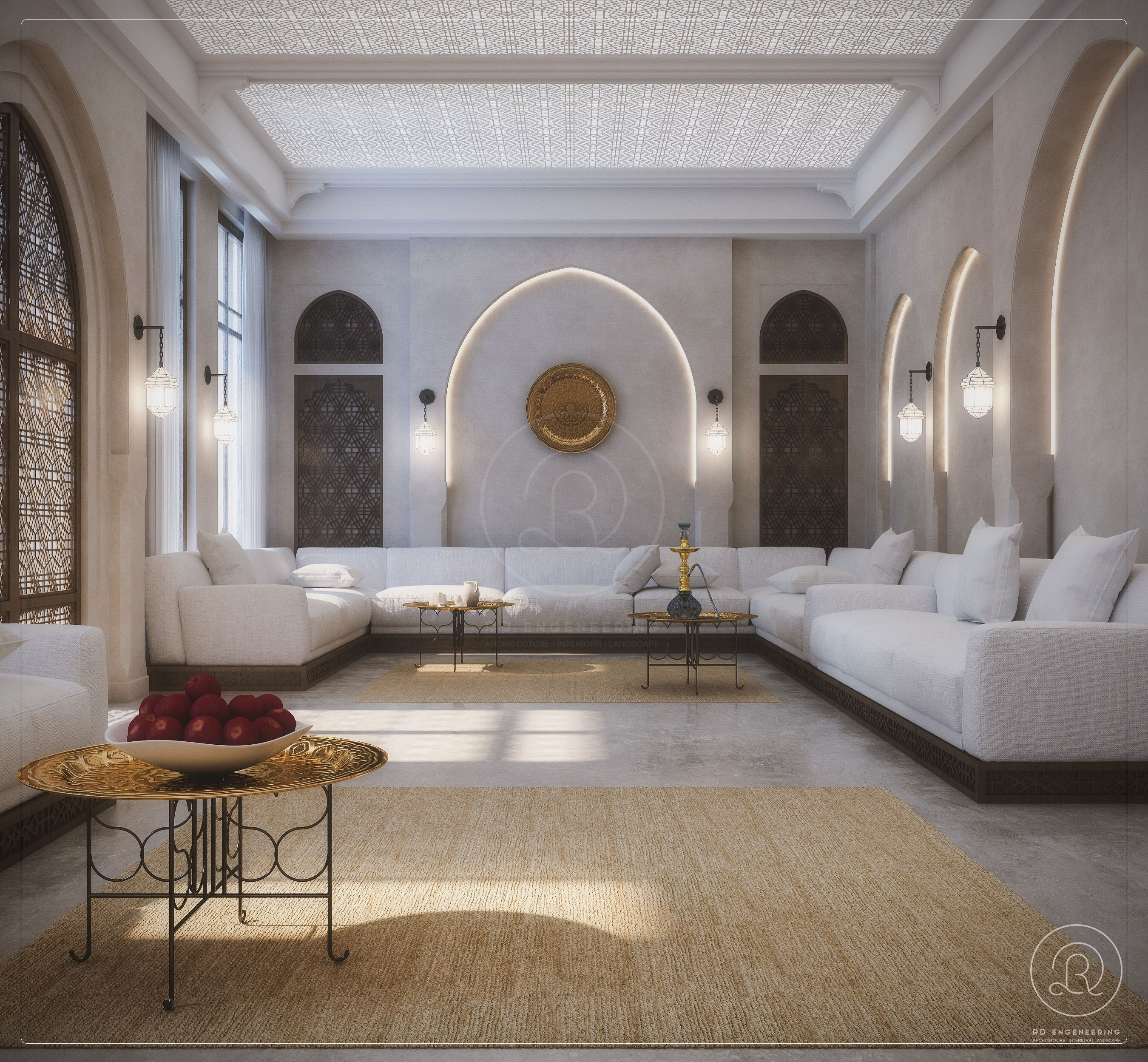 Majles By Rde Qatar Interior Design Design Interior