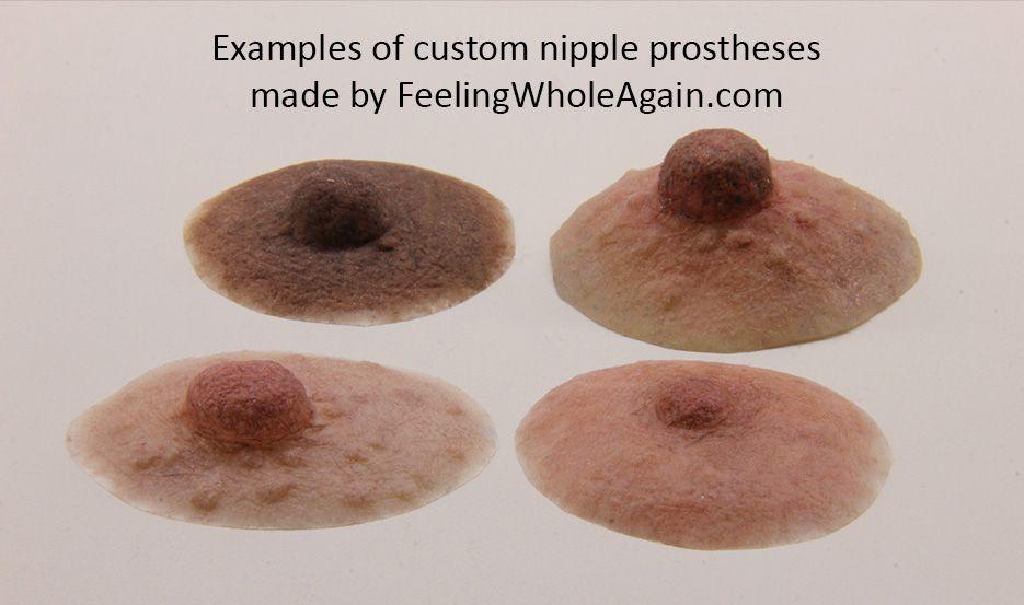 Custom nipple prosthetics feeling whole again custom for Tattooed nipples after breast reconstruction
