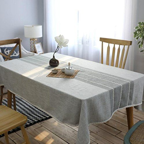 Gl G Simple Modern Stripe Kitchen Dining Table Top Decoration