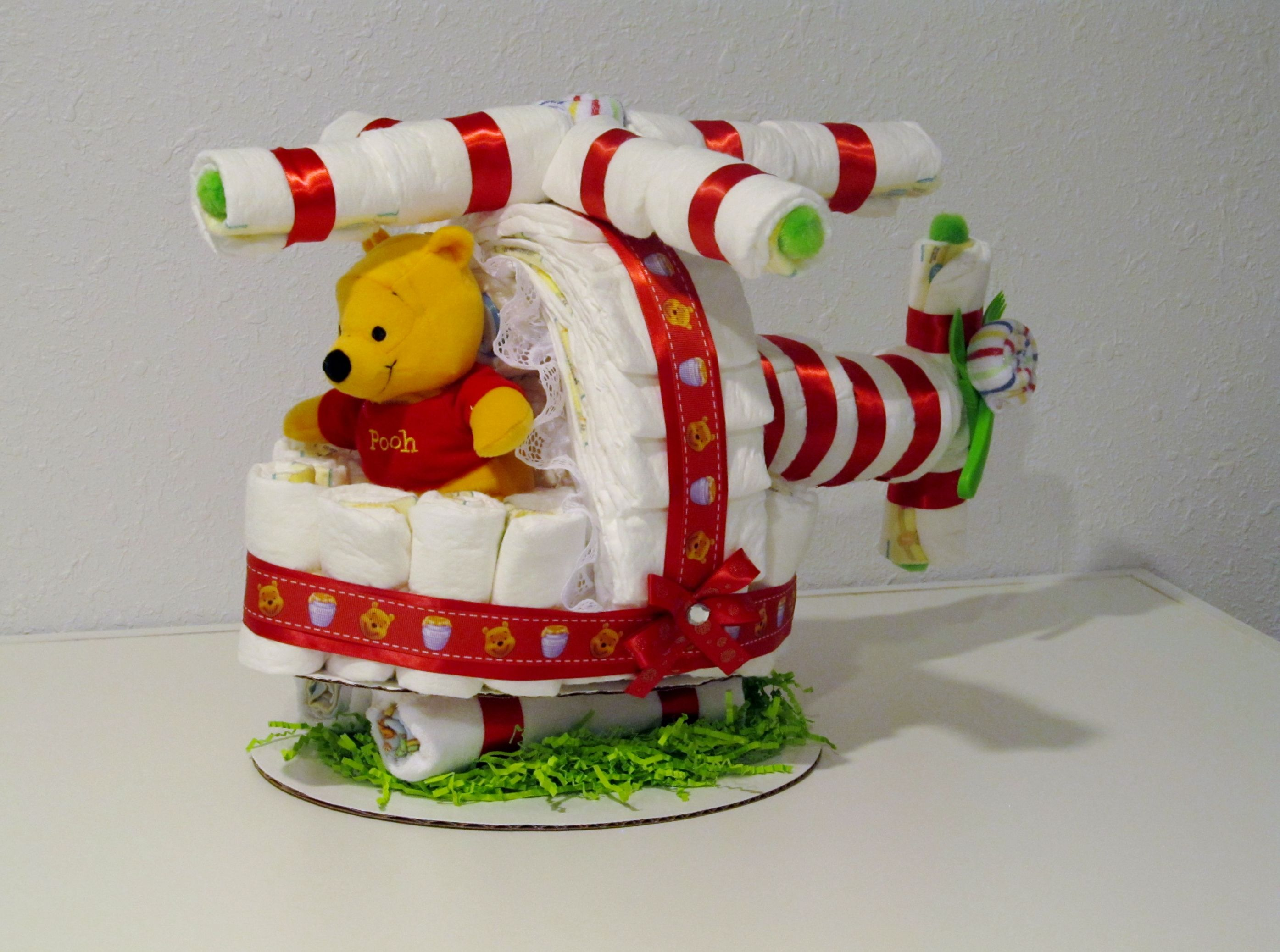 One Of My Cool Creations A Diaper Helicopter Like It