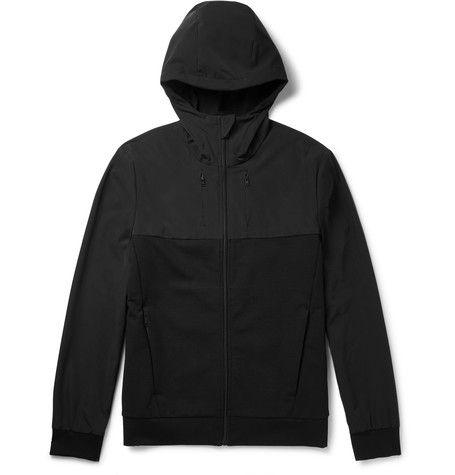 2ef2710e0022 Prada Shell And Stretch-Jersey Hoodie. PRADA .  prada  cloth  sweats