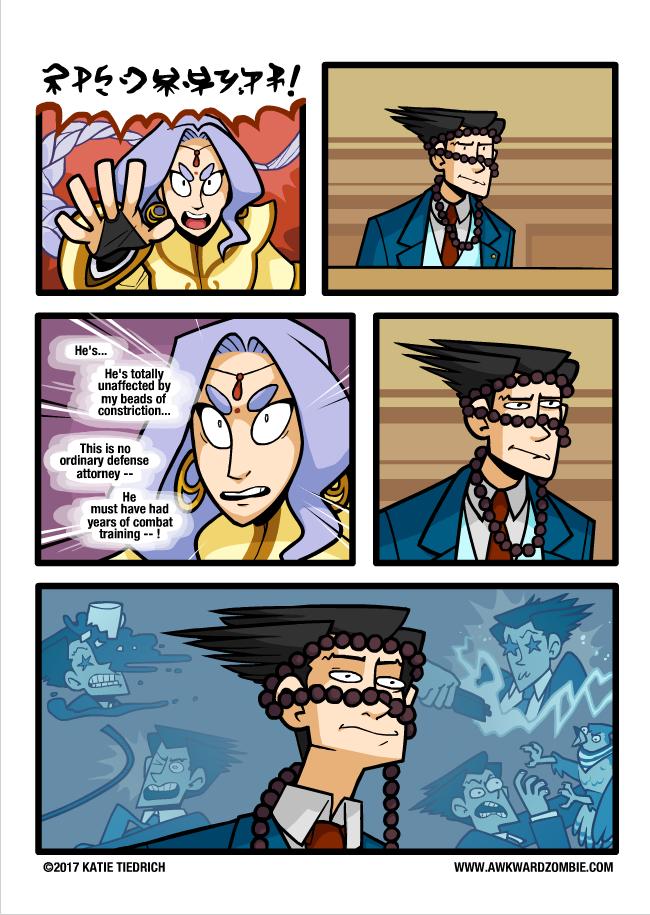Source Awkardzombie Com Awkward Zombie Phoenix Wright Ace