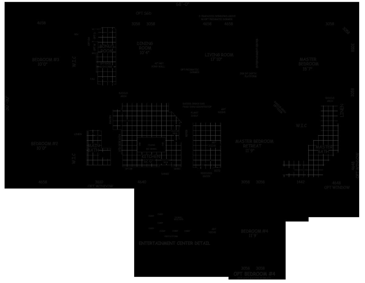 Estrella X 68 2090 sqft Home Double wide, Modular home