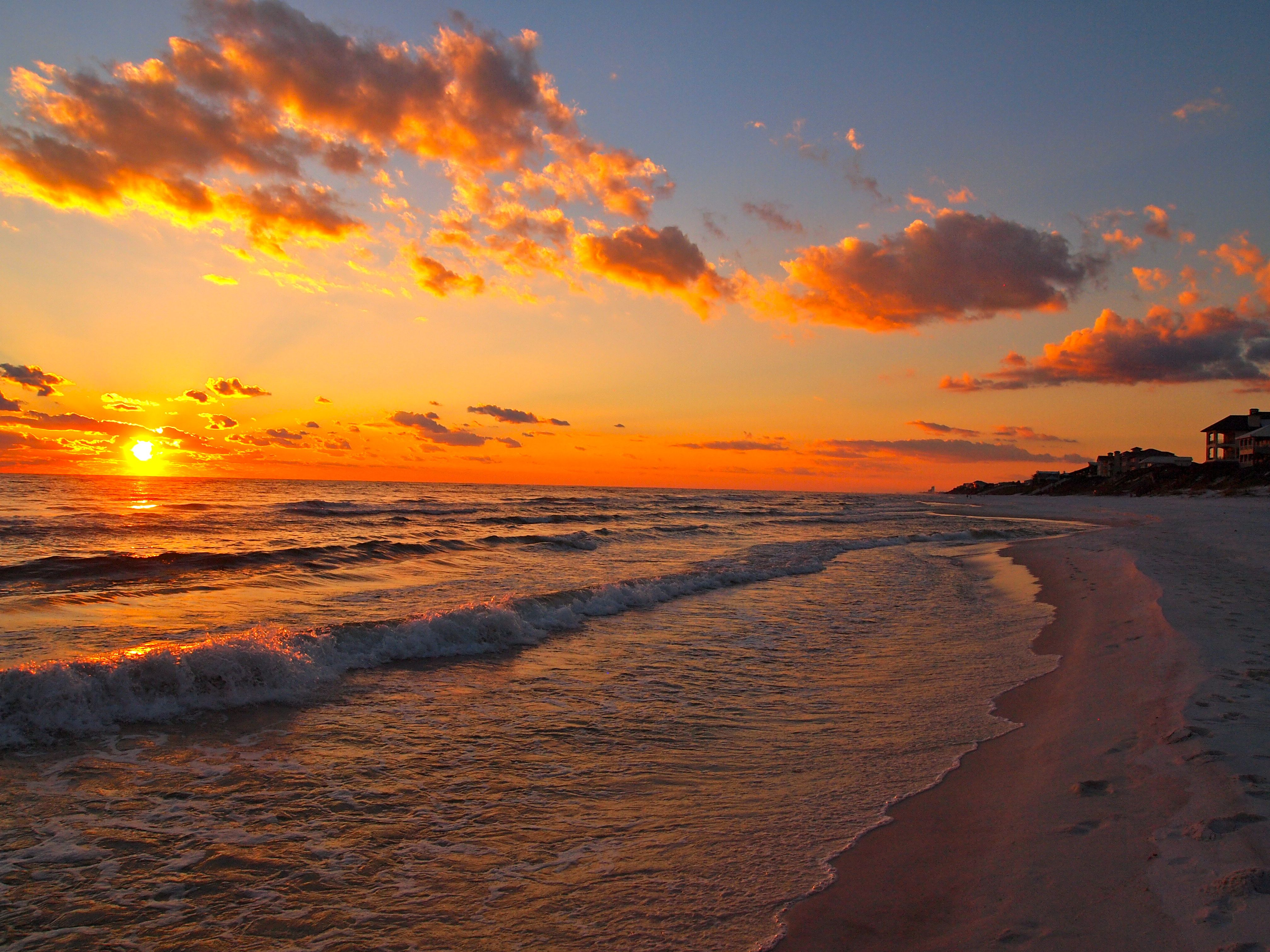 Florida Beaches Sunset Images 6 HD Wallpapers | amagico.com | Beaches in 2019 | Sunset wallpaper ...