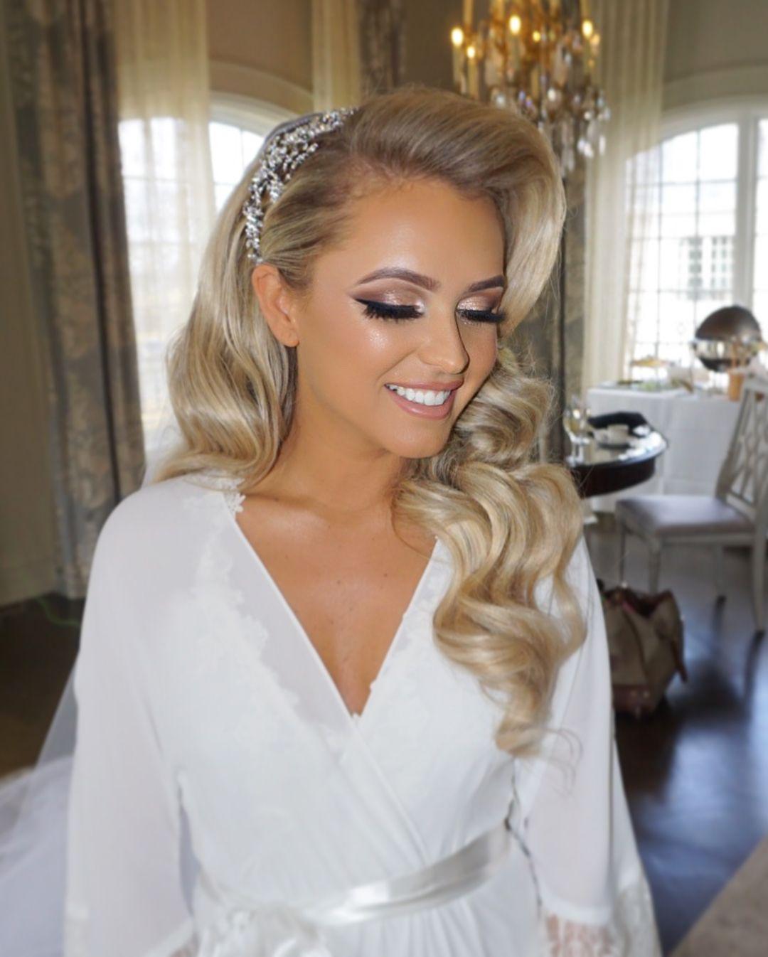 Bridal Glam Makeup By Lauren Damelio Hair By Senadakxo