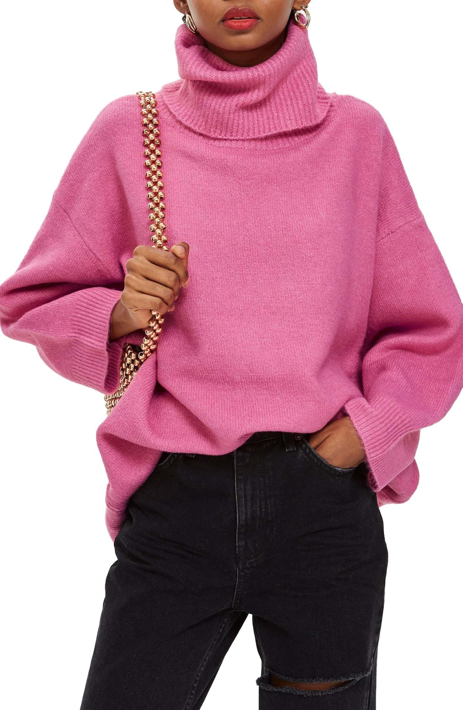 8daf5957f035 Oversize Turtleneck Sweater