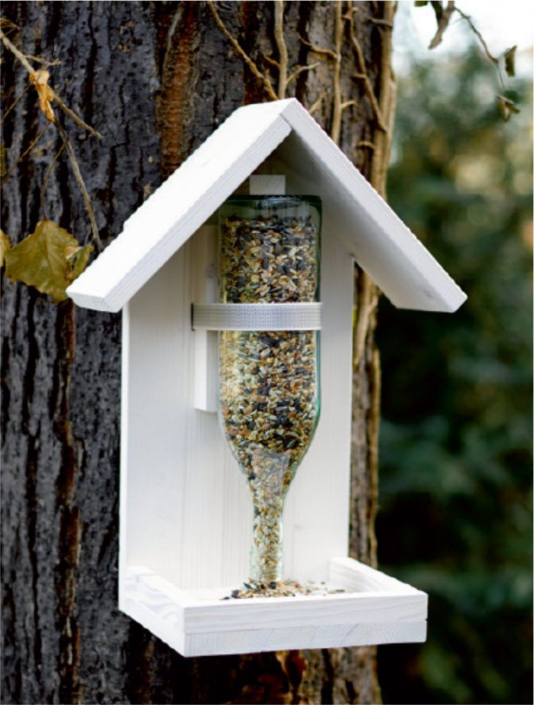 Vogelfutterhaus bauen - Knauber Ideen - Vogelfutterhaus einfach mal selber bauen – Knauber Ideen