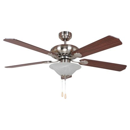 Found it at wayfair lauren 3 light ceiling fan in bright brushed