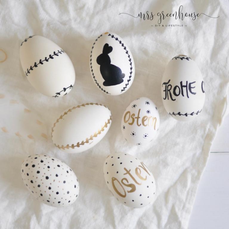 Photo of DIY bemalte Ostereier und Eierbecher aus Holzperlen   Mrs Greenhouse – DIY Blog mit kreativen Anleitungen zum Selbermachen