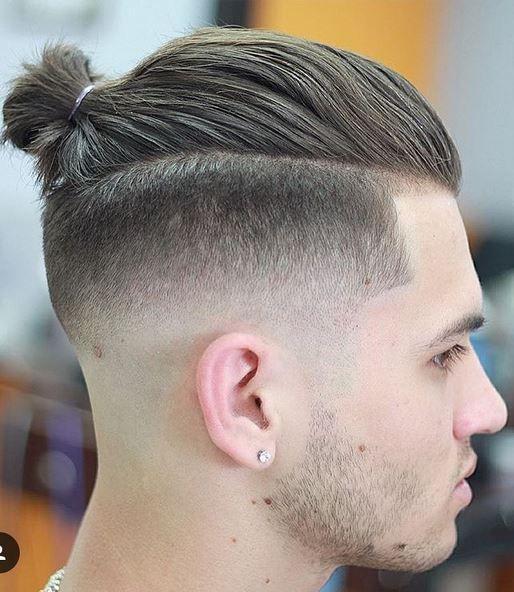 Pin By Zouhair Bouayad On Photoshop Man Bun Hairstyles Man Bun Haircut Undercut Hairstyles