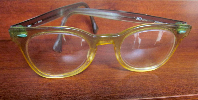 Vintage Clubmaster Horn Rim Style Glasses Eyewear Frames