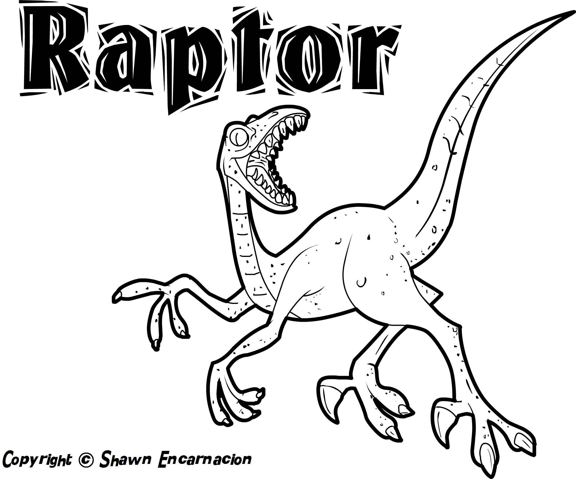 awesome Free Printable Dinosaur Coloring Pages With Names
