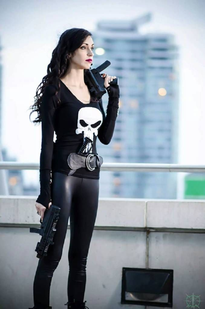 Rule 63 Punisher Cosplay by Allure Cosplay