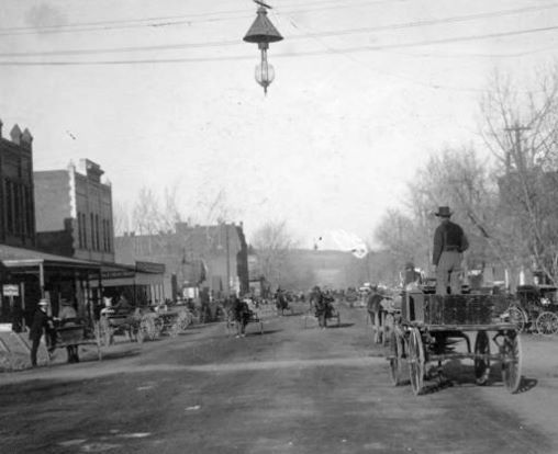 Main Street Canon City 1881 Canon City Colorado Denver History Canon City