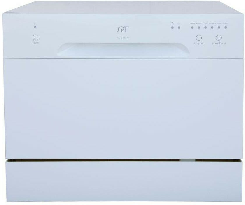 Ebay Sponsored Spt Countertop Dishwasher In White With 6 Place