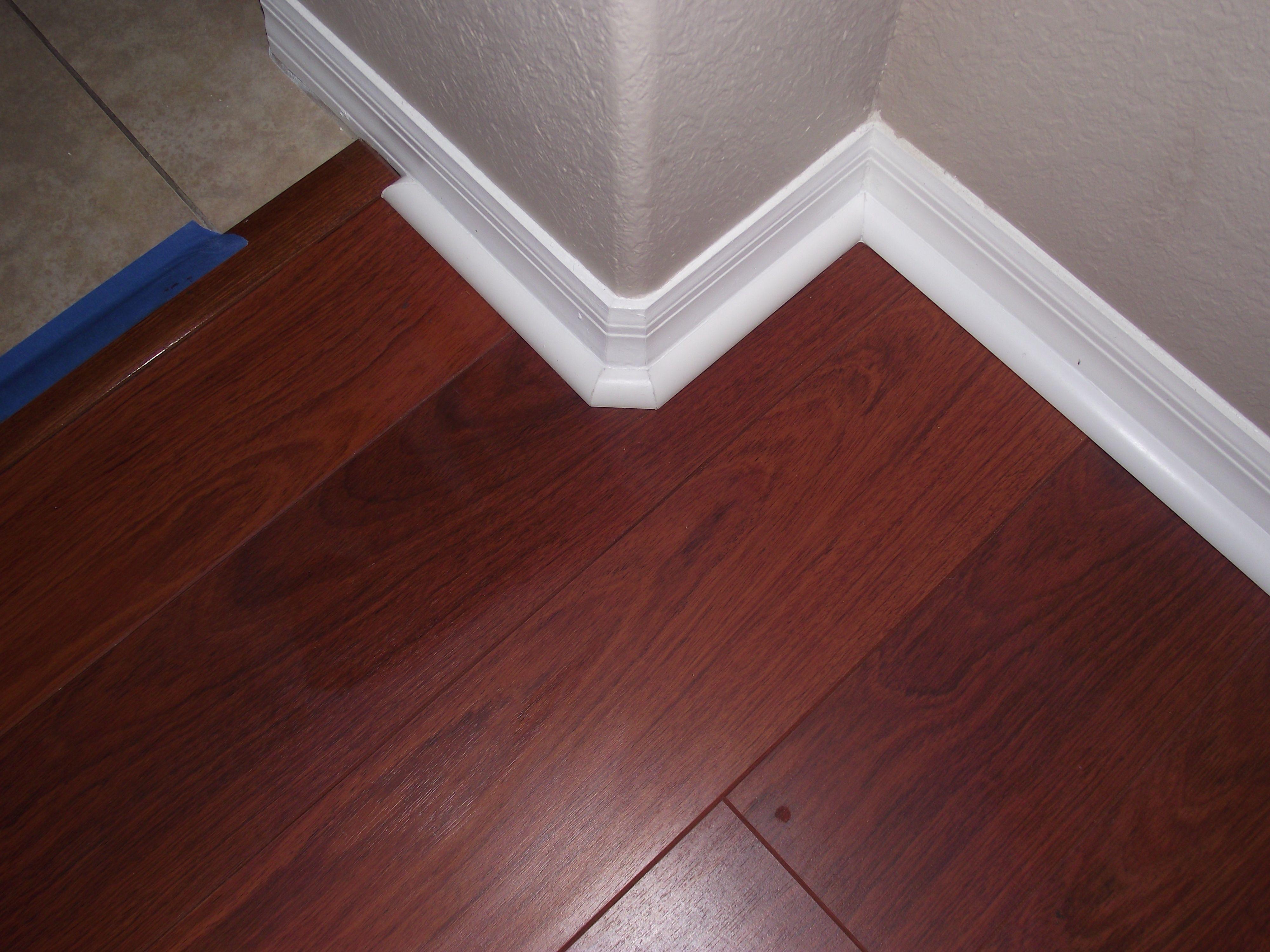 Installing Quarter Round Moldings Flooring, Installing