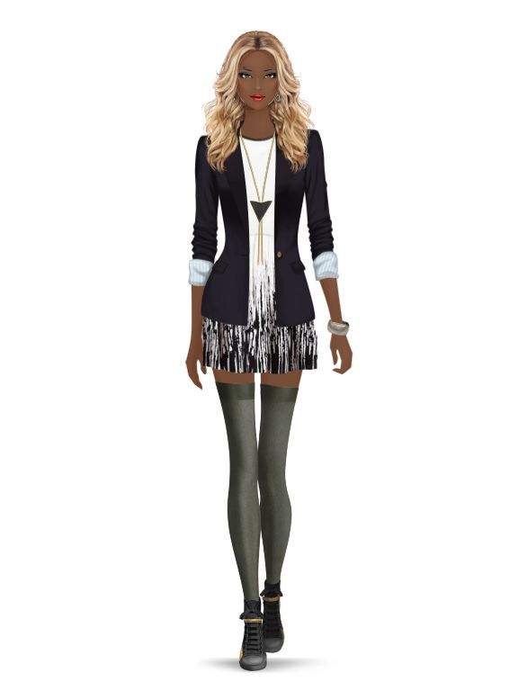 Styled with: Soxxy, Be & D, Tart, Parker, Rebecca Minkoff, Karen London, One Oak By Sara   Create your own look with Covet Fashion
