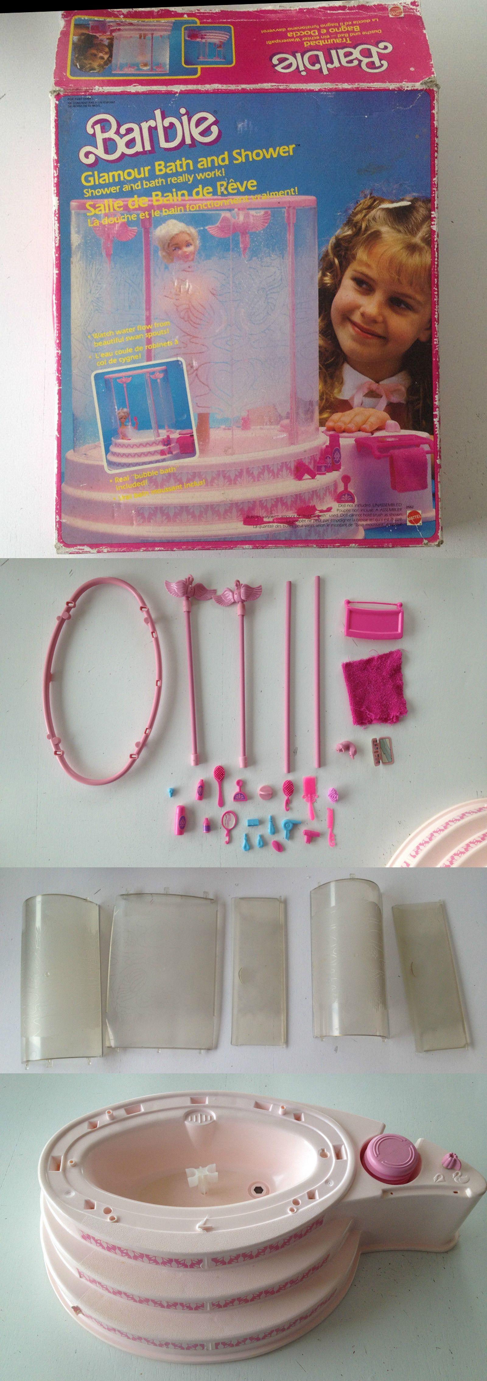 Détails sur MATTEL Barbie salle de bain de rêve douche ...