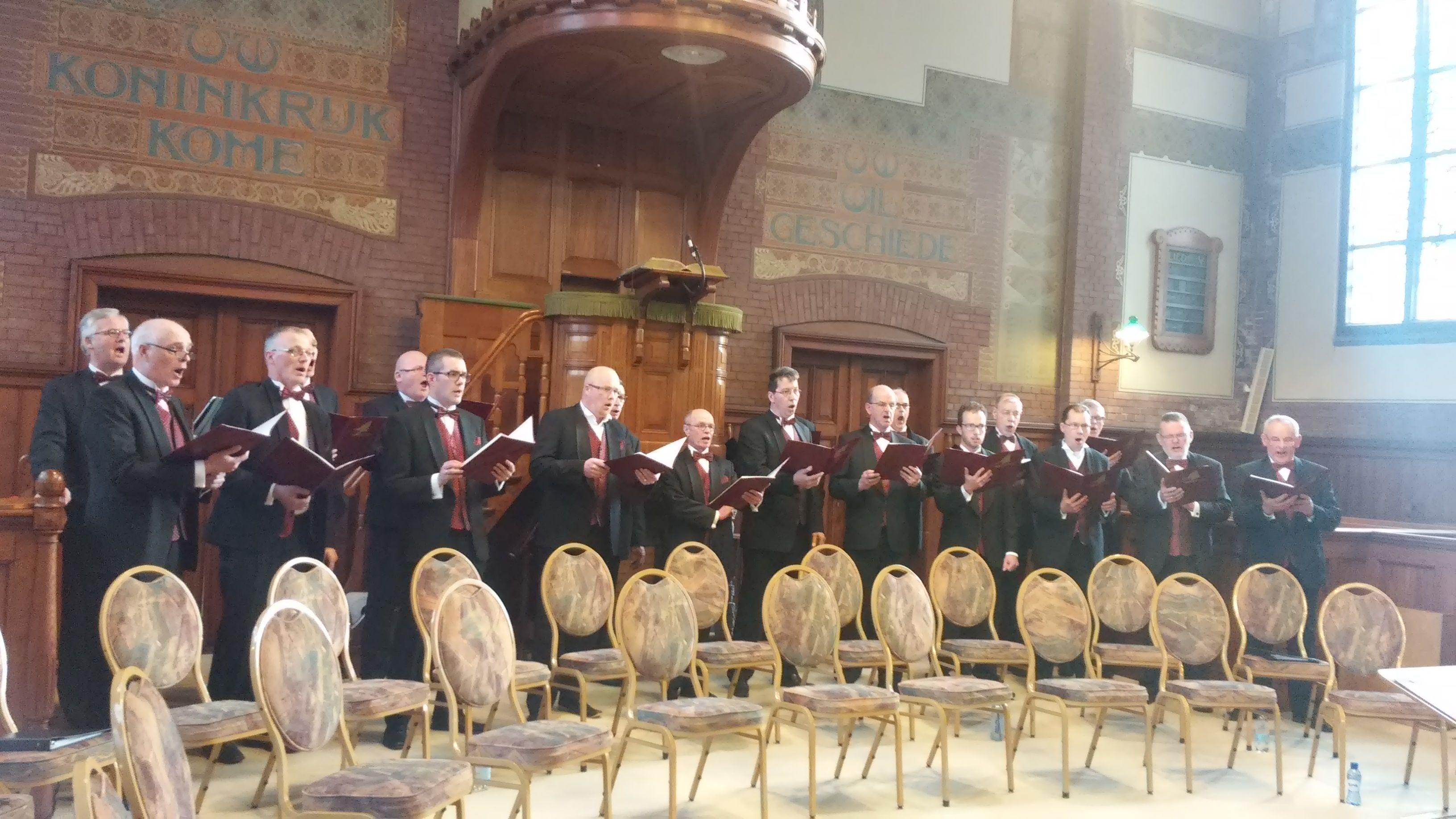 Ichthus Mannen-Ensemble (IME) Dordrecht, Remonstrantse Kerk 1 april 2015
