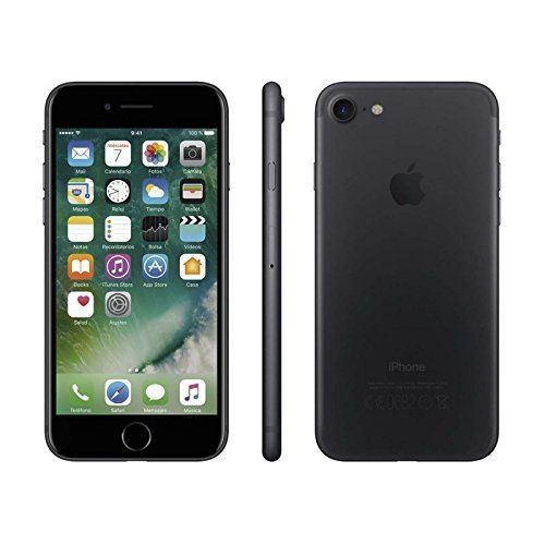 custodia iphone 7 nero opaco