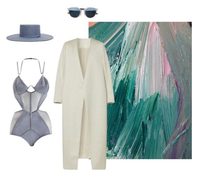 """"""""""" by astrro on Polyvore featuring Zimmermann, Christian Dior and E L L E R Y"""