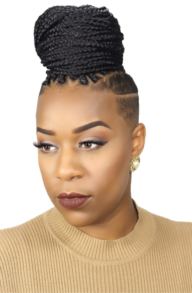 IG Kimberleycryer Box Braids With Shaved Sides Box