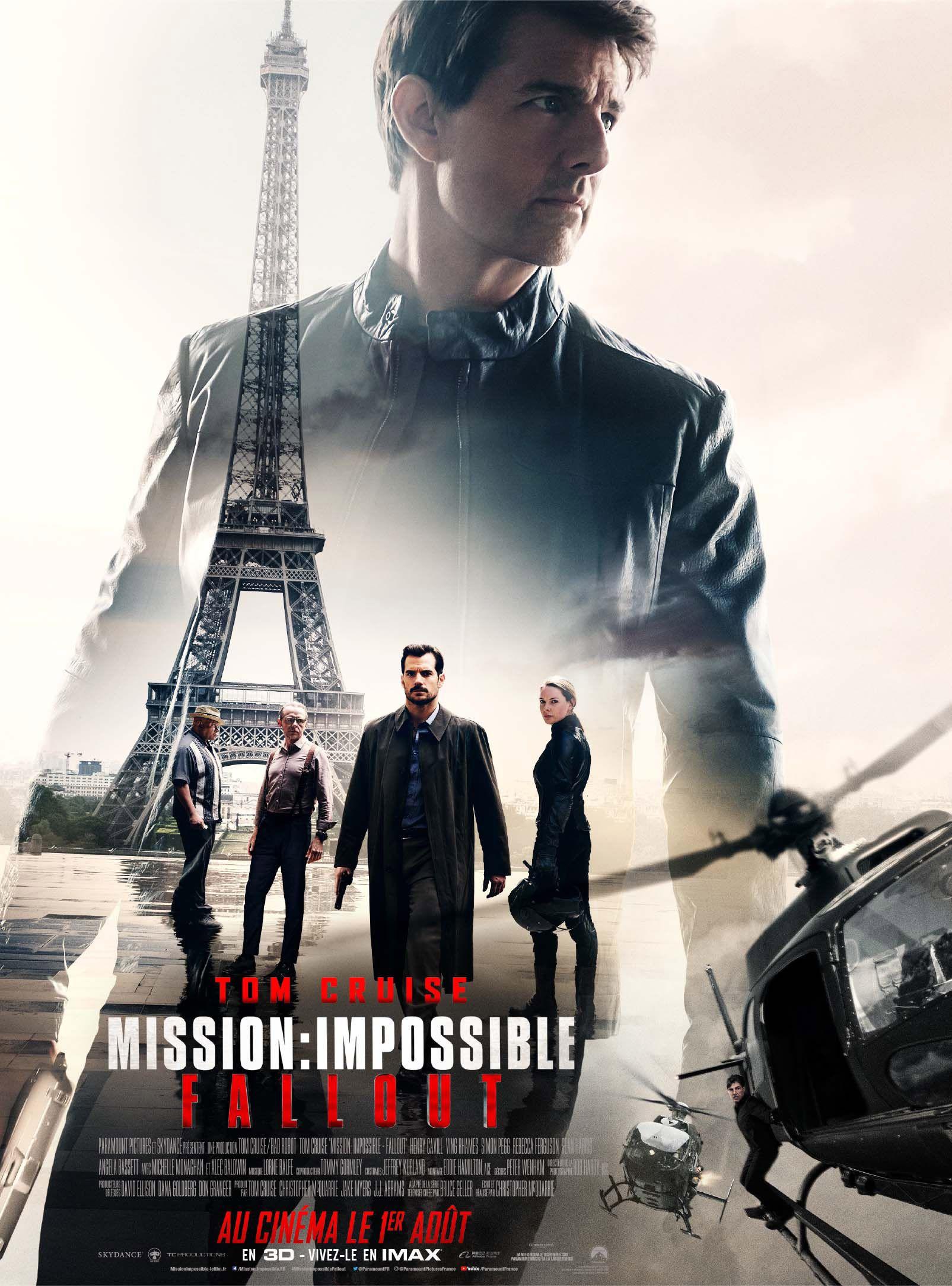 Critique : Mission: Impossible - Fallout