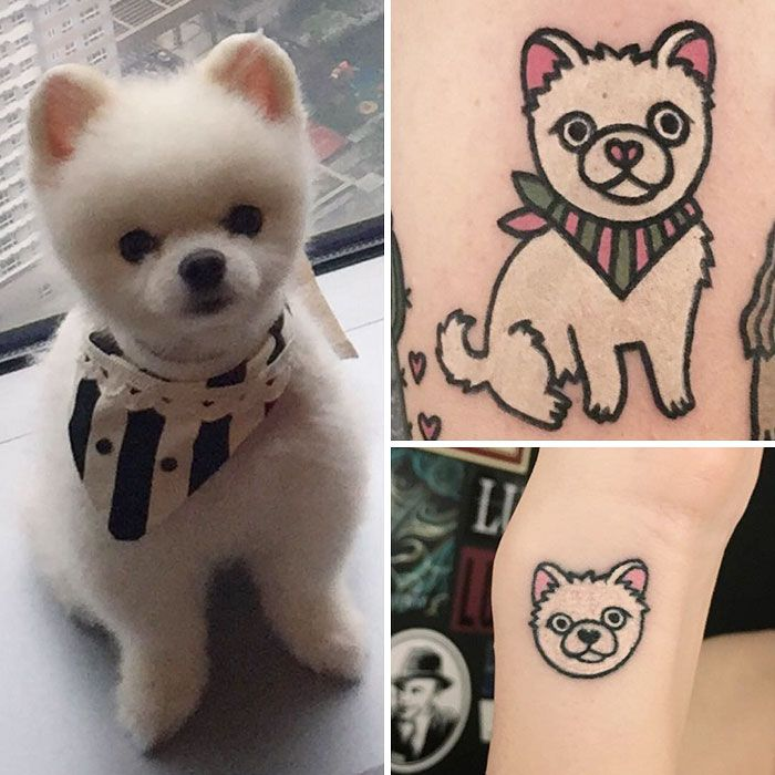 South Korean Tattoo Artist Turns Your Pets Into Pawsome Tattoos Korean Tattoo Artist Animal Tattoos Tattoo Artists