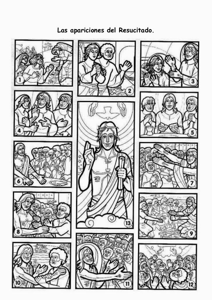 Apariciones de Jesús | Catequesis | Pinterest