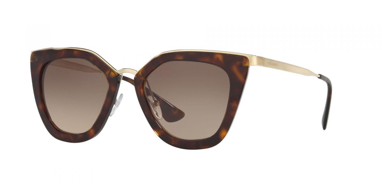 Prada SPR53S Cat Eye Sunglasses | Black | Fashion Eyewear