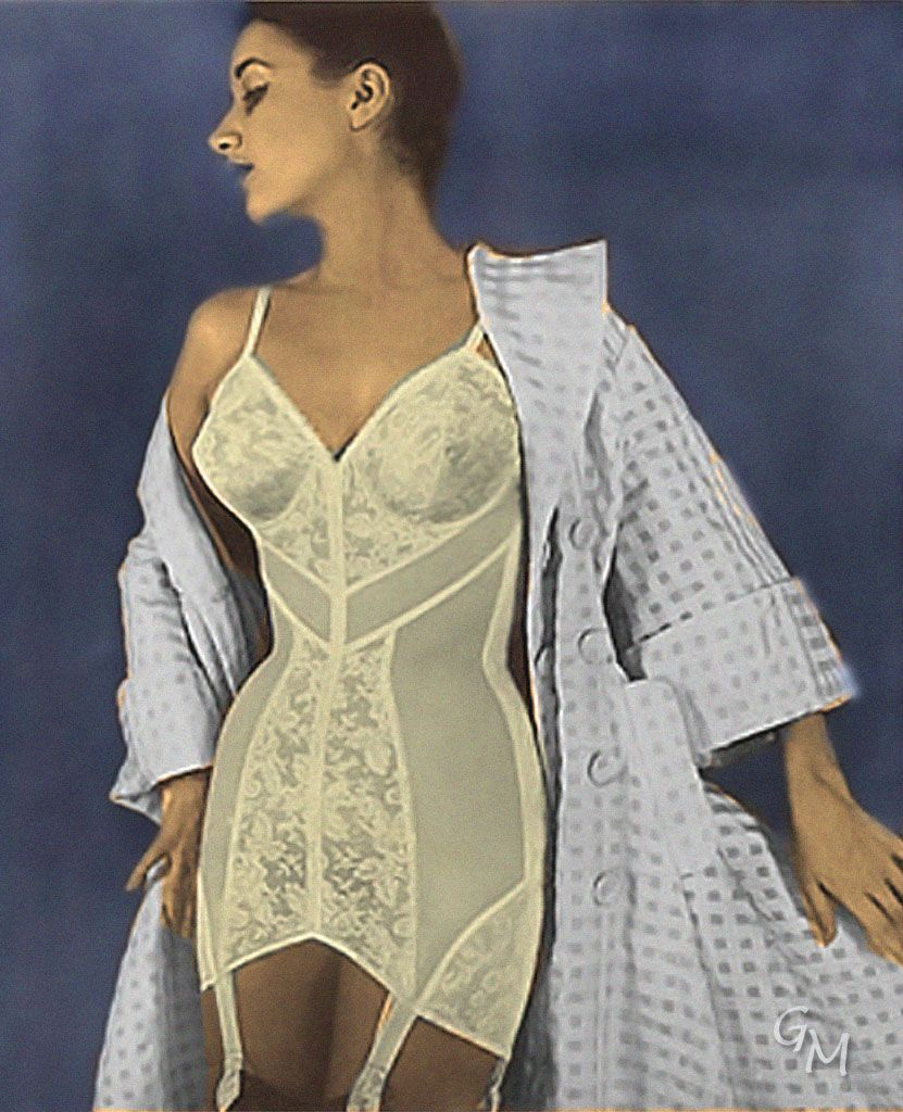 Having This Girdle Under The Wedding Dress Would Make Bride Look Great