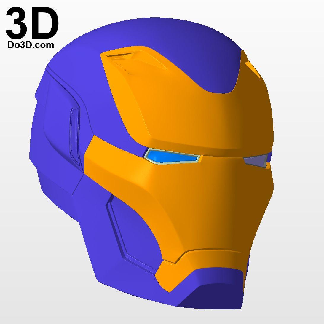 3D Printable Model: Iron Man Mark L MK 50 Avengers Infinity