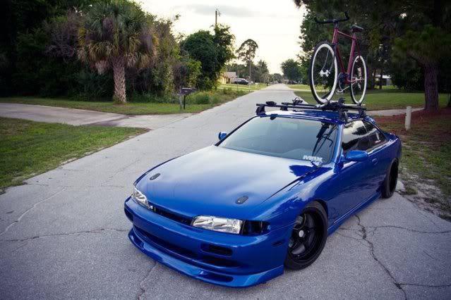 JDM s13 with bike racks | Fantastic Cars | Pinterest | Jdm and Cars
