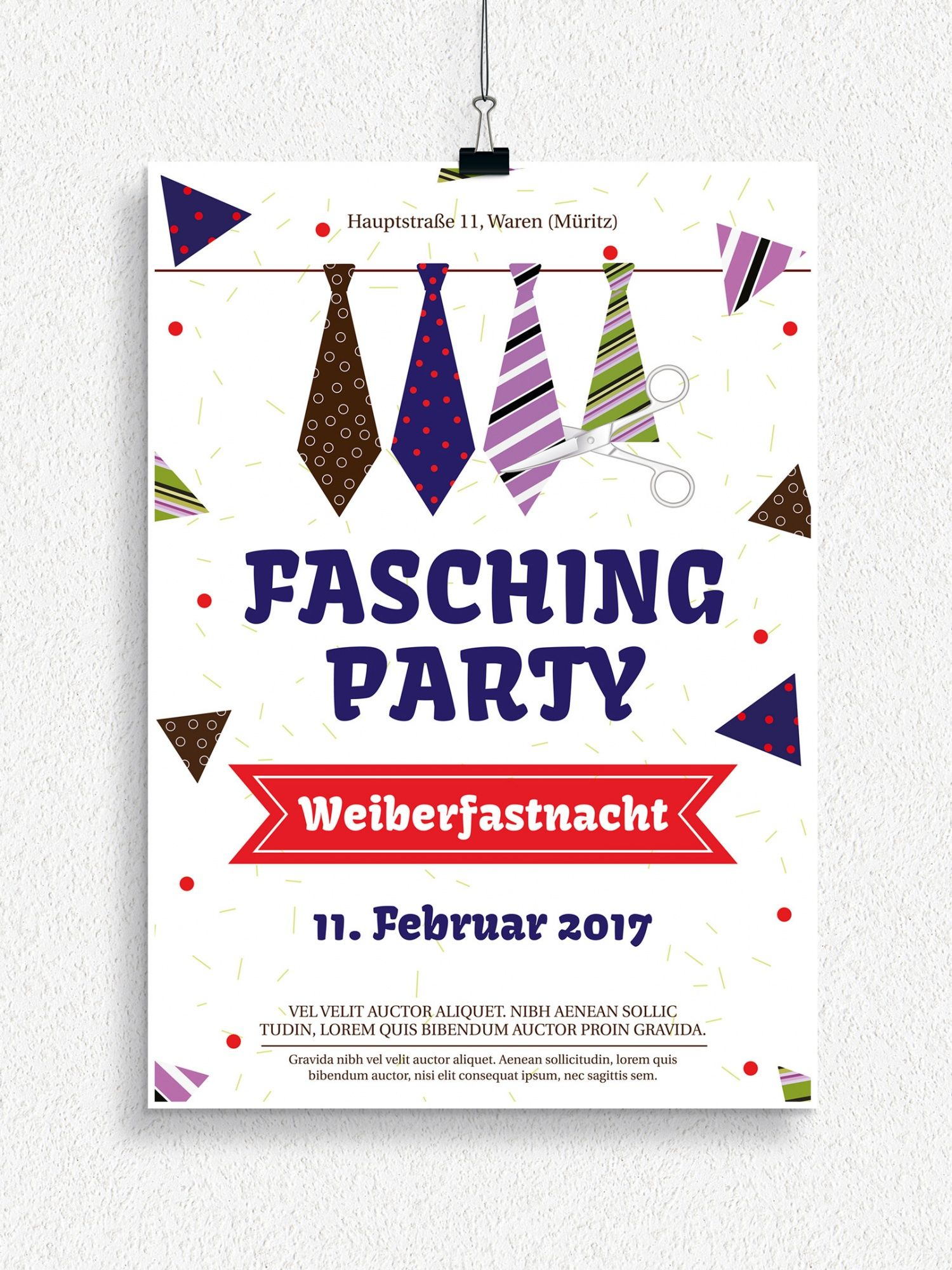 Ob Veilchendienstag Karnevalsumzug Kinderfasching Weiberfastnacht