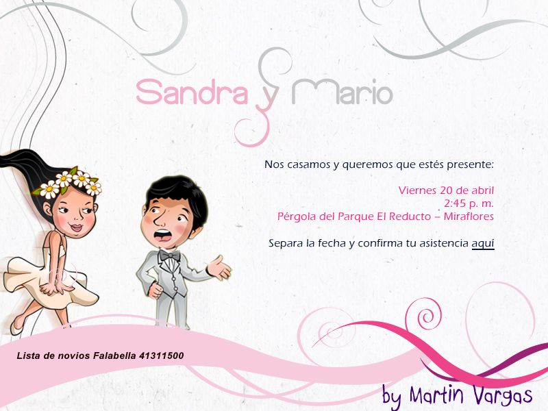 Invitaciones De Casamiento Virtuales Para Compartir 9 HD Wallpapers
