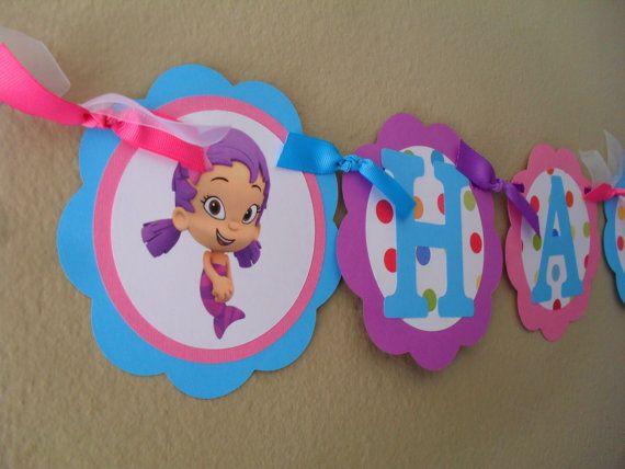 8 Bubble Guppies Party Favor Cutouts