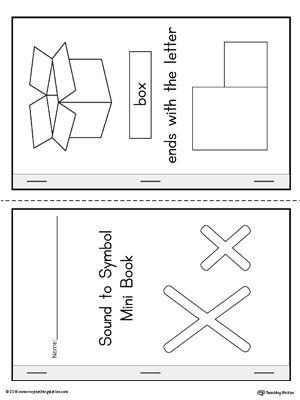 Say And Trace Letter X Ending Sound Words Worksheet Preschool Letters Kindergarten Worksheets Printable Kindergarten Worksheets