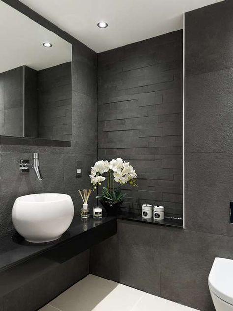 Bildergebnis für badezimmer farben elegant Bathroom Pinterest - farben fürs badezimmer